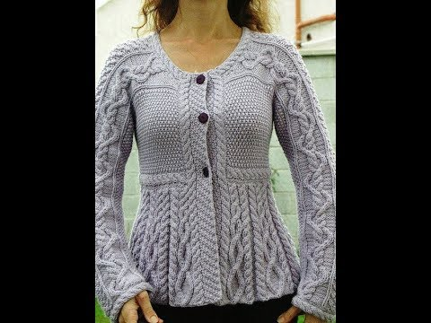 f185bbc72 Ladies Sweater Design - YouTube