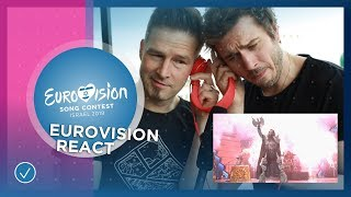 REACT TO EUROVISION Mahmood, John Lundvik, Michael Rice and Darude feat. Sebastian Rejman