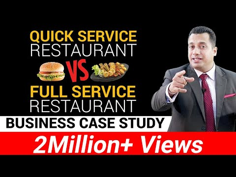 Quick Service Restaurant vs Full Service Restaurant | Business Case Study | Dr Vivek Bindra