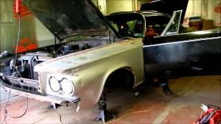 1964 Chrysler 300K engine test