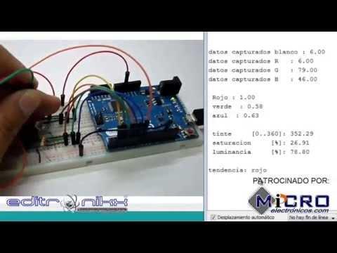 Sensor De Color DY-31 TCS230 TCS3200
