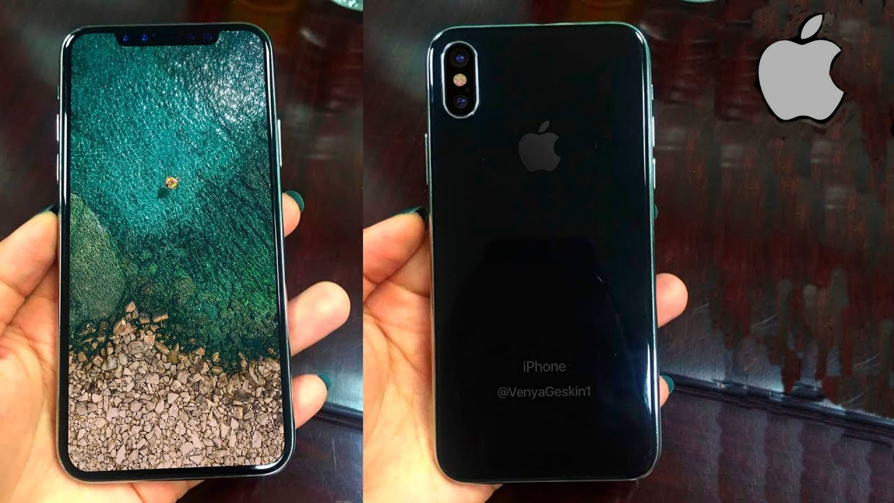 IPhone 8 Hands On Video LEAKED Dummy