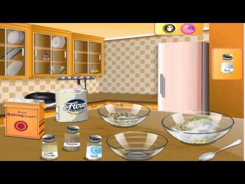 เกมส์ทําอาหาร, เกมทำอาหาร Saras Cooking Class Falafel - Cooking Games