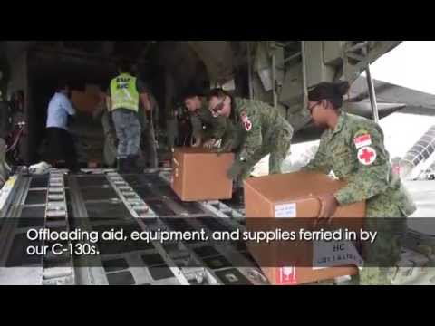 Providing Humanitarian Aid And Disaster Relief To Nepal