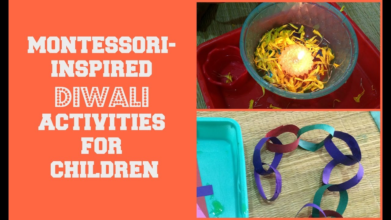 New Montessori Inspired Diwali Activities For Toddlers