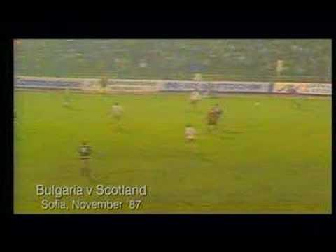 Scotland Bulgaria 1988 European Qualifier Gary Mackay Goal