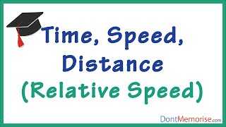 time speed distance tricks – relative speed gmat gre cat bank po ssc cgl