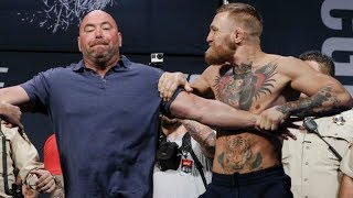 Conor McGregor Loses Control | Backstage Fights 2018