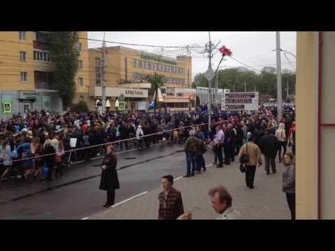 Липецк шествие 9 мая 2017