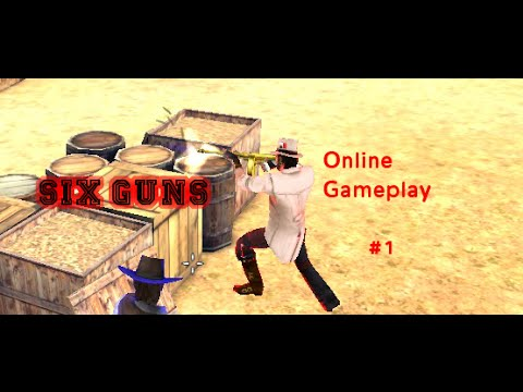 Six Guns 2.9.0 Online Gameplay #1 - fun with the new weapons