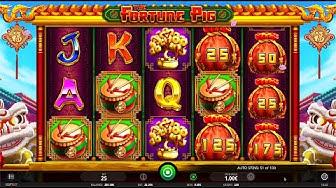The Fortune Pig Bonus Feature (iSoftBet)