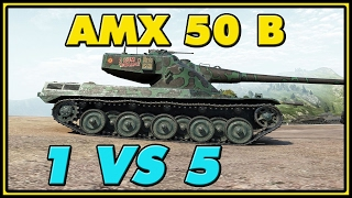 World of Tanks | AMX 50 B - 8 Kills - 9.6K Damage