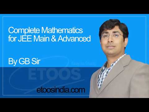 IIT-JEE Mathematics Definite integration I Gavesh Bhardwaj (GB) Sir from ETOOSINDIA.COM