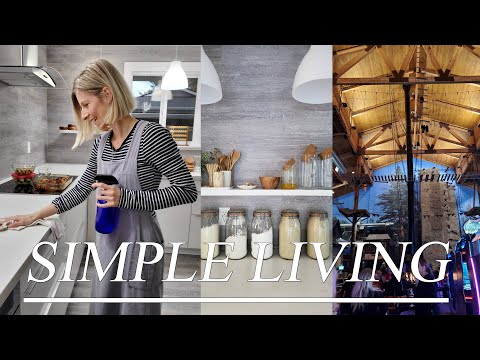 SIMPLE LIVING - COOKING - HAIRCUT - BIRTHDAY PARTY