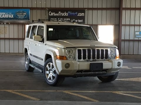 2010 Jeep Comander Limited 5.7 Review