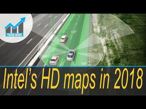 Intel's Mobileye will have 2 million cars on roads building HD maps in 2018