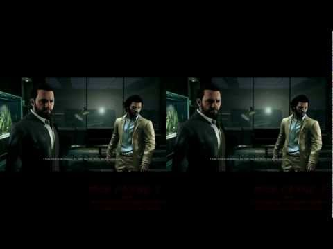 MAX PAYNE 3 with NVidia 3D Vision (in stereoscopic 3D, also in Full HD)