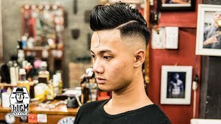 How to cut a Classic Gentleman's Haircut [Liem Barber Shop's collection]