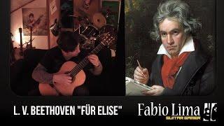 "L. V. Beethoven ""Fu?r Elise"" by Fabio Lima"