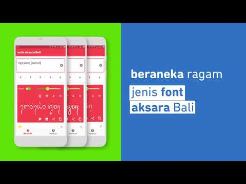 Nulis Aksara Bali Programme Op Google Play