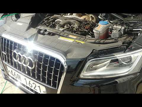 Audi q5 45 tdi brown gas carbon cleaning