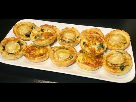 recette-idÉale-pour-le-ramadan-les-mini-tartelettes-aux-Épinards-et-au-fromage
