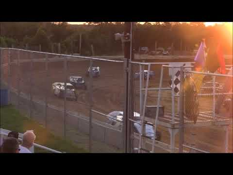 Sport Mod Heat #1 from Jackson County Speedway, July 6th, 2018.