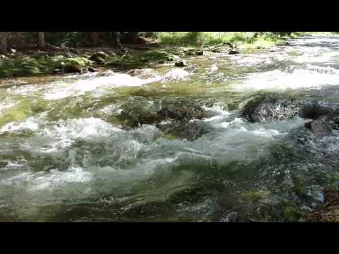 Nature Sounds Relaxing Music - Meditation - Water Sounds - Chalk Creek Colorado
