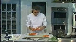 Cooking With Bernard, Tabouleh With Feta, Poached Salmon And A Curry Vegetable Sauce-Part 3