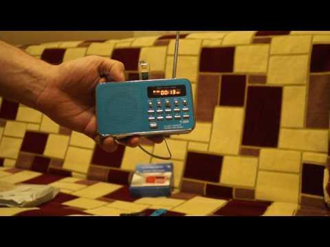 T-205 Digital FM Radio, Music Player
