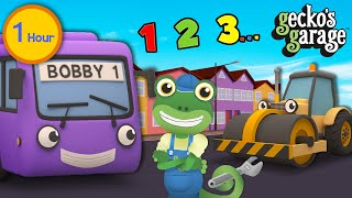 The Best of Gecko's Garage | Learning Videos For Toddlers | Trucks For Children