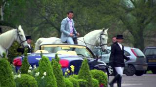 Mark Wright and Arg on horseback - The Only Way Is Essex