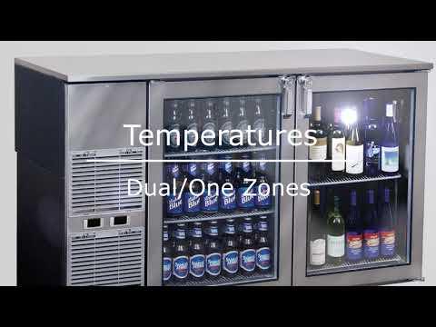 Glastender Back Bars - Bar Elements - Benneta Bar Gears