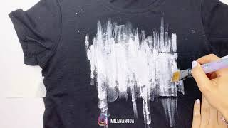 Мастер класс по черной футболке