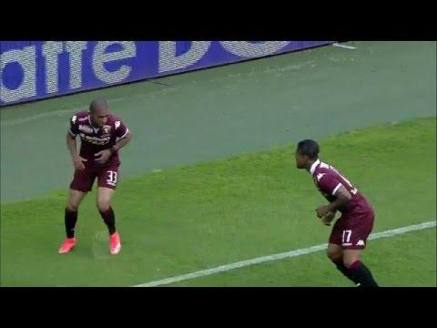 Il gol di Bruno Peres - Torino - Sassuolo 1-3 - Giornata 35 - Serie A TIM 2015/16