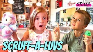 SCRUFF-A-LUVS & Stella get Ice Cream