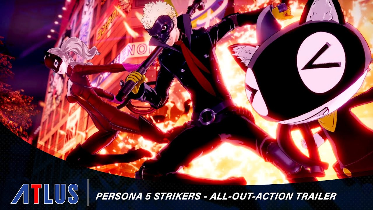 Persona 5 Strikers Receives New All-Out-Attack Trailer