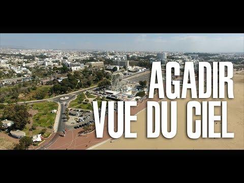 AGADIR MOROCCO VUE DU CIEL 🇲🇦🎥 UN MAX DE PARTAGE