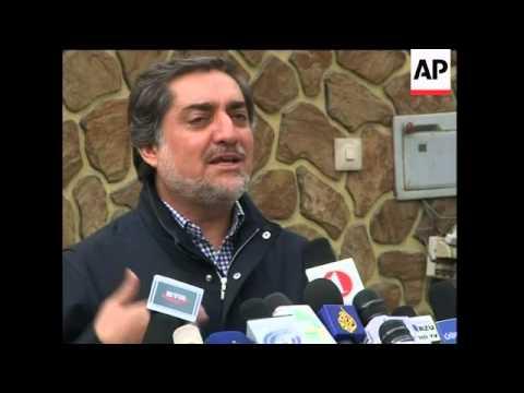 Karzai rival claims president undermining battle against Taliban