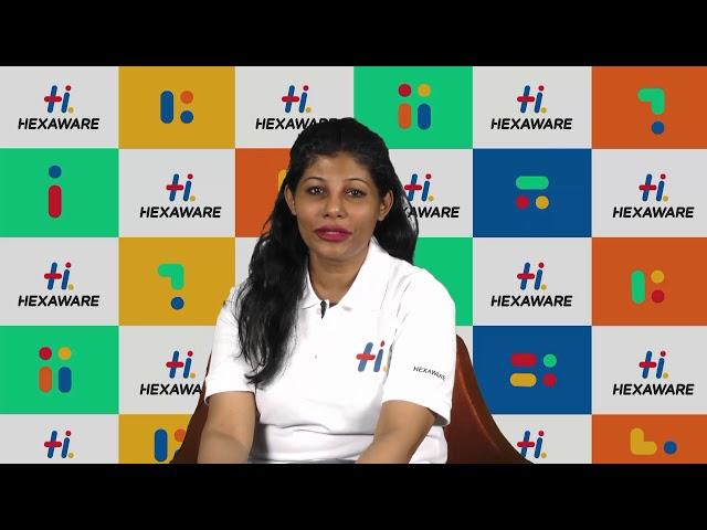 Hexaware Career: Leader Speak - Vidya Srinivasan