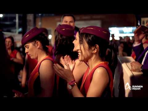 Adelaide Airport in Fringe Opening Night 2018