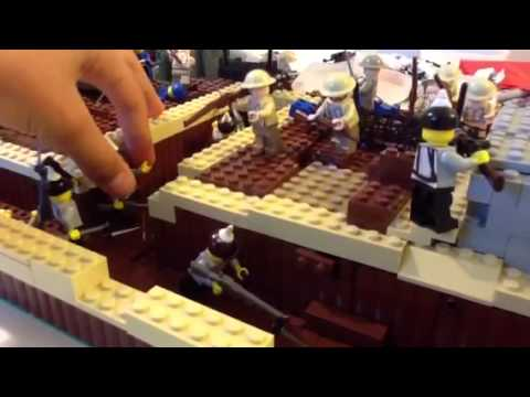Lego WW1 Raid on the German Trenches
