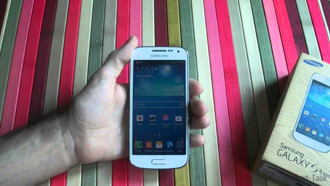samsung galaxy s4 mini gt i9195 review youtube. Black Bedroom Furniture Sets. Home Design Ideas