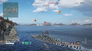 Meet The Bismark! Tier 7 German Battleship! (World of Warships Legends Xbox One X)
