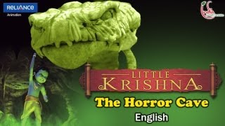 "LITTLE KRISHNA ENGLISH EPISODE 3 ""THE HORROR CAVE"" ANIMATION SERIES"