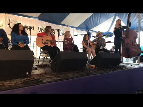 Ladies Vocal Worship performing at the 2017 Richmond Folk Fe