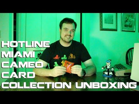 Mike Unboxes Hotline Miami Gamer's Edition Cameo Card Collection