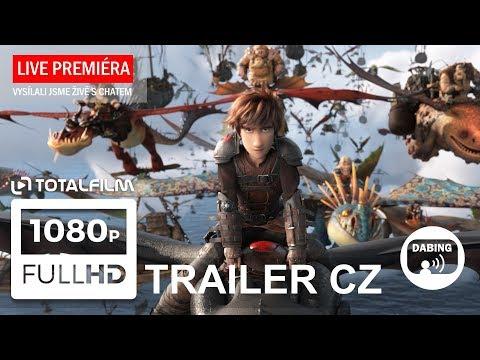 Jak vycvičit draka 3 (2019) CZ dabing HD trailer