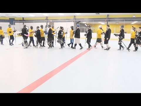 Young Gunz vs. Raiders (6/23/17) Ball Hockey