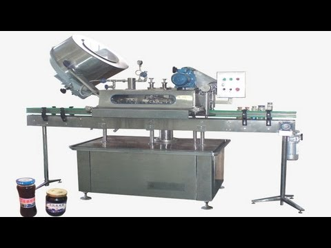 Button-controlled system glass Jar twist off Steam Capper equipment vacuum capping machine for sauce